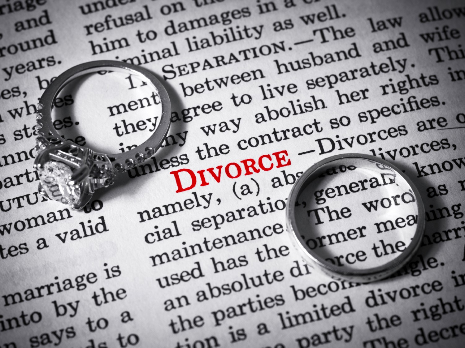 pending divorce and dating